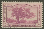 772 3c Connecticut F-VF Mint NH 772nh