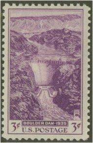 774 3c Boulder Dam F-VF Mint NH 774nh