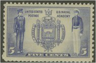 794 5c Navy F-VF Mint NH 794nh