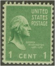 804 1c George Washington F-VF Mint NH 804nh