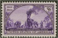 922 3c Railroad F-VF Mint NH 922nh