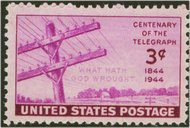 924 3c Telegraph F-VF Mint NH 924nh
