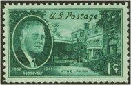 930 1c F.D.Roosevelt F-VF Mint NH 930nh