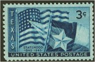 938 3c Texas Statehood F-VF Mint NH 938nh