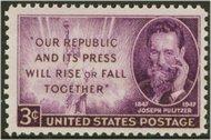 946 3c Joseph Pulitzer F-VF Mint NH 946nh