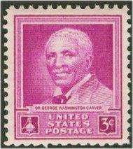 953 3c George W. Carver F-VF Mint NH 953nh