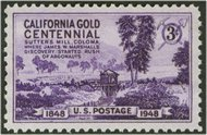 954 3c California Gold F-VF Mint NH 954nh