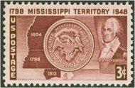 955 3c Mississippi F-VF Mint NH 955nh