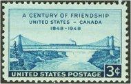 961 3c US-Canada Bridge F-VF Mint NH 961nh