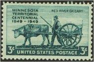 981 3c Minnesota F-VF Mint NH 981nh