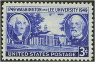 982 3c Washington-Lee F-VF Mint NH 982nh