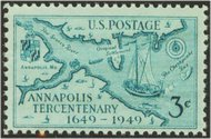 984 3c Annapolis F-VF Mint NH 984nh