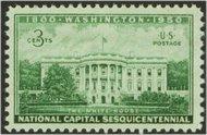 990 3c White House F-VF Mint NH 990nh