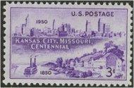 994 3c Kansas City F-VF Mint NH 994nh