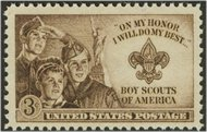995 3c Boy Scouts F-VF Mint NH 995nh