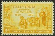 997 3c California F-VF Mint NH 997nh
