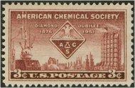 1002 3c Chemical Society F-VF Mint NH 1002nh
