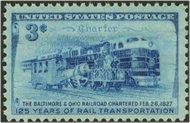 1006 3c B & O Railroad F-VF Mint NH 1006nh