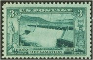 1009 3c Grand Coulee Dam F-VF Mint NH 1009nh