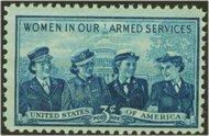 1013 3c Service Women F-VF Mint NH 1013nh