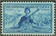 1017 3c National Guard F-VF Mint NH 1017nh