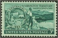 1019 3c Washington F-VF Mint NH 1019nh