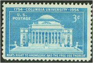 1029 3c Columbia University F-VF Mint NH 1029nh