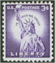 1035 3c Statue of Liberty F-VF Mint NH 1035nh