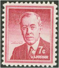 1040 7c Woodrow Wilson F-VF Mint NH 1040nh