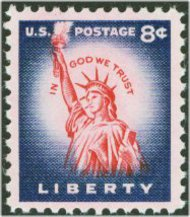 1041 8c Liberty,Original F-VF Mint NH 1041nh
