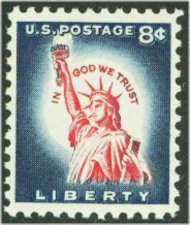 1042 8c Liberty,Redrawn F-VF Mint NH 1042nh