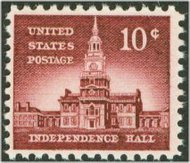 1044 10c Independence Hall F-VF Mint NH 1044nh