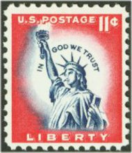 1044A 11c Statue of Liberty F-VF Mint NH 1044Anh