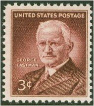 1062 3c George Eastman F-VF Mint NH 1062nh