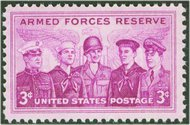 1067 3c Military Reserve F-VF Mint NH Plate Block of 4 1067pb