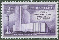 1076 3c FIPEX stamp F-VF Mint NH 1076nh
