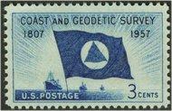 1088 3c Coast & Geodetic F-VF Mint NH 1088nh