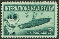 1091 3c Naval Review F-VF Mint NH 1091nh