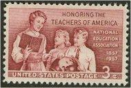 1093 3c School Teachers F-VF Mint NH 1093nh