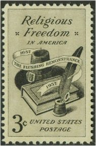 1099 3c Religious Freedom F-VF Mint NH 1099nh