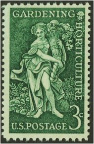 1100 3c Horticulture F-VF Mint NH 1100nh