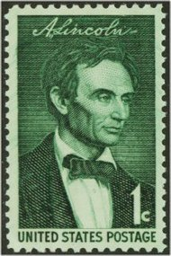1113 1c Young Lincoln F-VF Mint NH 1113nh