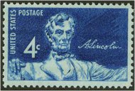 1116 4c Lincoln Statue F-VF Mint NH 1116nh