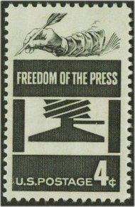 1119 4c Journalism F-VF Mint NH 1119nh