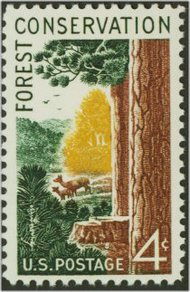 1122 4c Forest Conservation F-VF Mint NH 1122nh