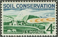 1133 4c Soil Conservation F-VF Mint NH 1133nh