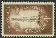 1134 4c Petroleum Industry F-VF Mint NH 1134nh