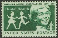 1135 4c Dental Health F-VF Mint NH 1135nh