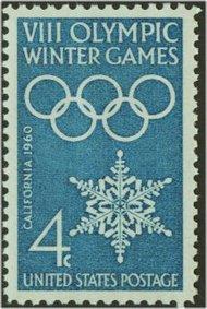1146 4c Winter Olympics F-VF Mint NH 1146nh