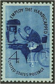 1155 4c Employ the Handicapped F-VF Mint NH 1155nh